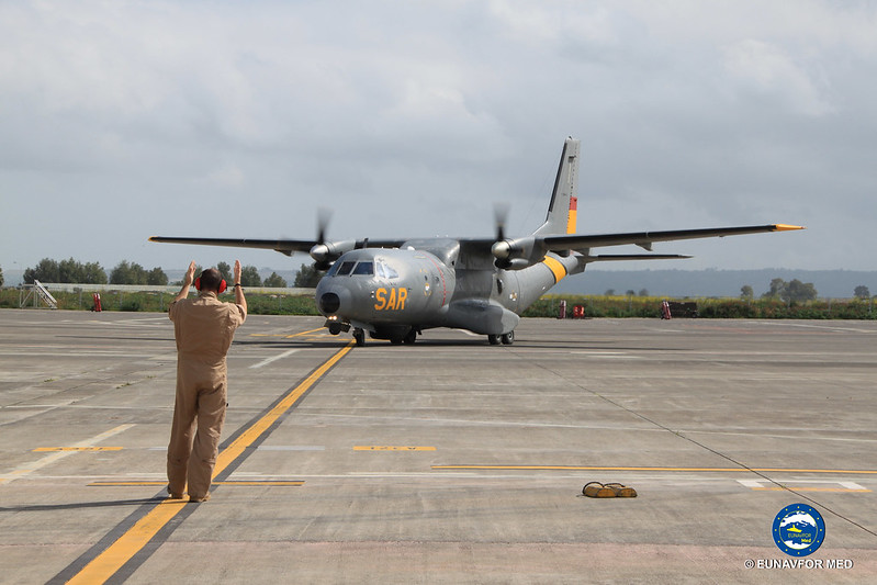 One year ago, the first flight for Detachment Grappa – EUNAVFOR MED