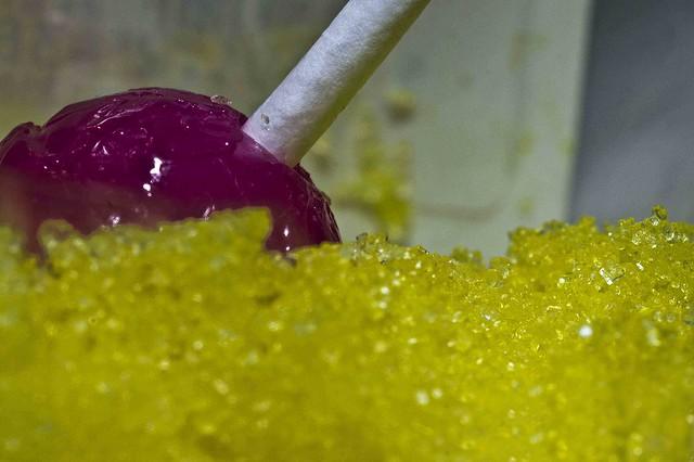 Lolly & Lemonade Crystals (Explored 20/9/16), Sony SLT-A33, Tamron SP AF 60mm F2 Di II LD [IF] Macro 1:1