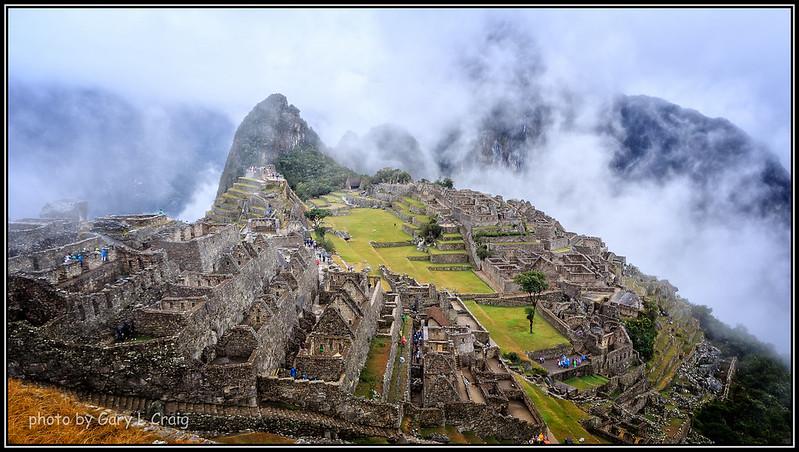 In the Rain - Machu Picchu