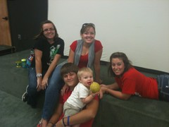 Courtney, Haley, Emily, Austin, John Michael
