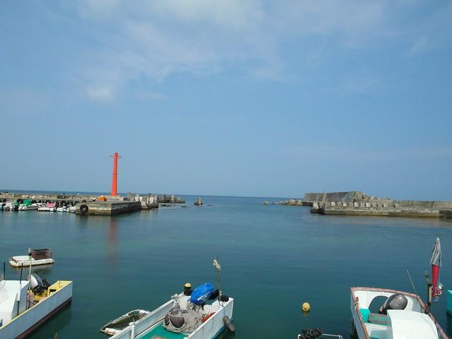 小琉球公營碼頭旁