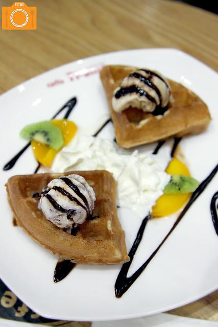 Caffe Ti-amo Waffle Gelato