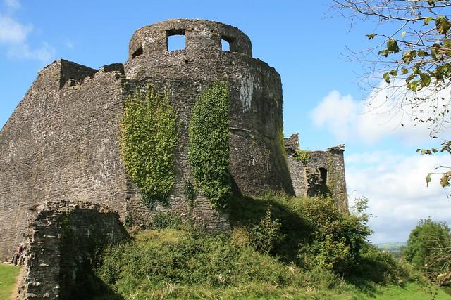 Dinefwr Castle, Dinefwr Park and Castle, Llandeilo, Carmarthenshire, Wales