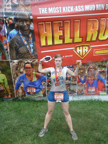 Erica at Hell Run Chicago