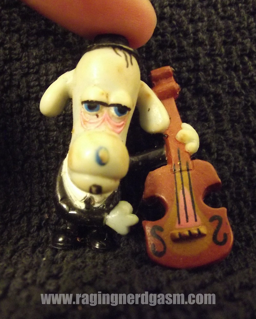 Pee Wee's Playhouse figurine Puppet Land Band Durty Dog 001