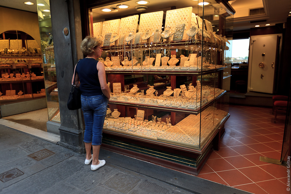 Этим летом витрины Il Florino буквально ломились от золотых изделий