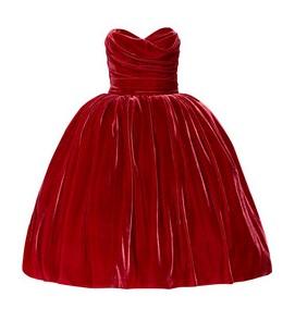 DG Velvet dress