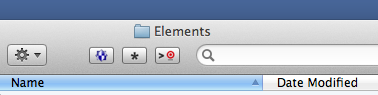 BBEdit Finder toolbar button