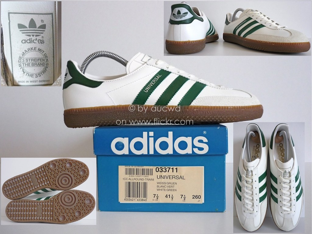 ... NEW 70`S   80`S VINTAGE ADIDAS UNIVERSAL SHOES   TRAINERS  96d1b8018