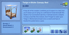 Twigs-n-Sticks Canopy Bed