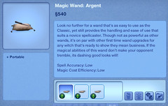 Magic Wand - Argent