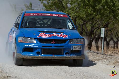 Francisco J. Hernandez y Manuel Mateo IV Rallysprint de tierra de Lorca