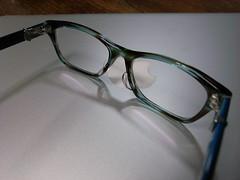 新しいメガネ2