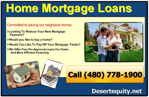 Scottsdale Az Mortgage 85260 | (480) 778-1900
