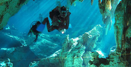 Hidden Worlds Cenote Diving Package in Mexico
