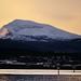 Today`s sunrise on Tromsdalstinden by John A.Hemmingsen