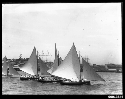 Half decked boats, Sydney Harbour