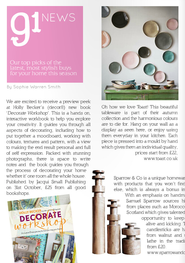 The first review of Decorate Workshop!