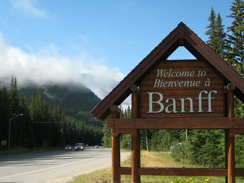 Banff Sign