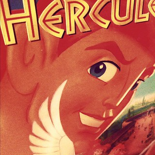 "Hero. ""I'm Hercules, and, uh, I happen to be... a hero."" #fmsphotoaday"