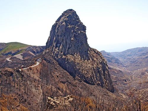 Roque de Agando, La Gomera