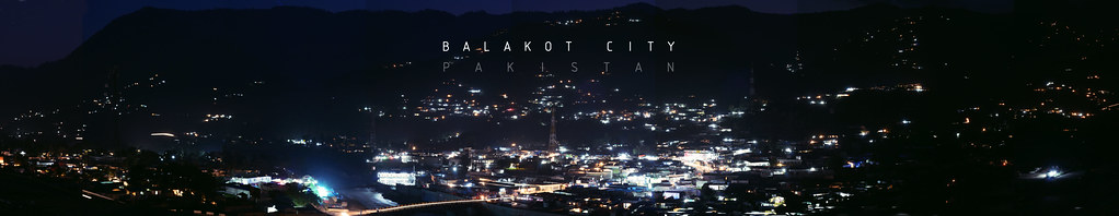 Balakot City | panorama