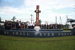 A moment to reflect: Havelock, Cherry Point communities pay respects at 9/11 Memorial Plaza