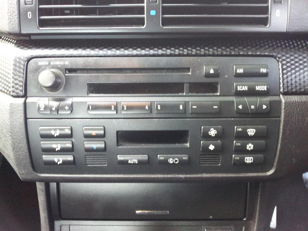 Installing Aftermarket Radio Interior Styling E46 E46 Zone Forum