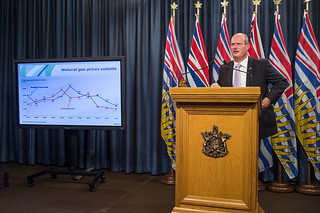 BC acts to manage lower natural gas revenues