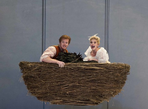 Duncan Rock and Rhian Lois as Papageno and Papagena