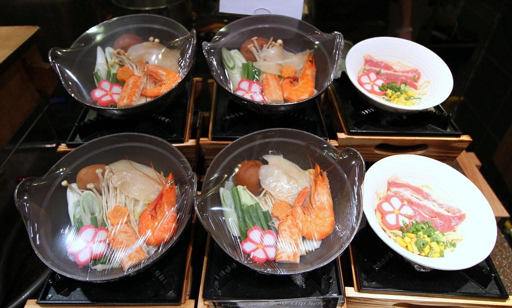 Kiseki Japanese Buffet Restaurant: Japanese Selection: Hot Pot & Ramen