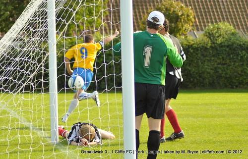 Cliffe FC 1 - 0 Osbaldwick 15Sept12