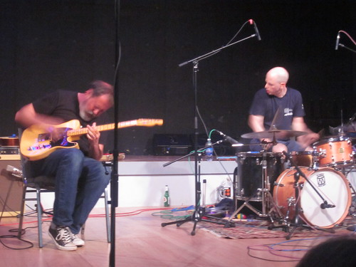 Bill Orcutt and Chris Corsano at Roulette, 08-30-2012