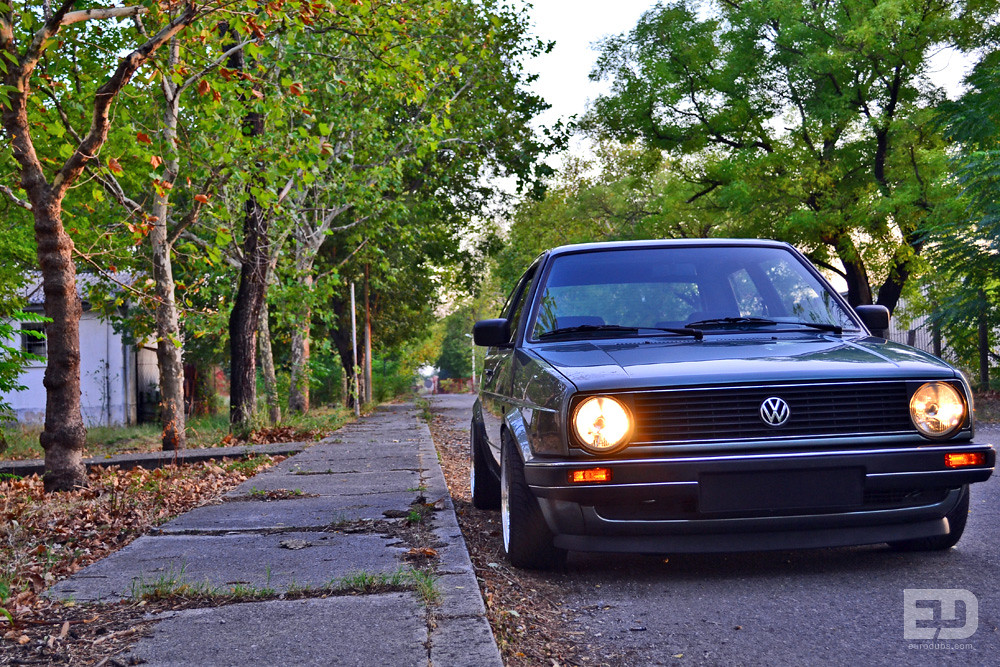 Vw Golf Mk2 Vr6 By Milo Maras Eurodubs