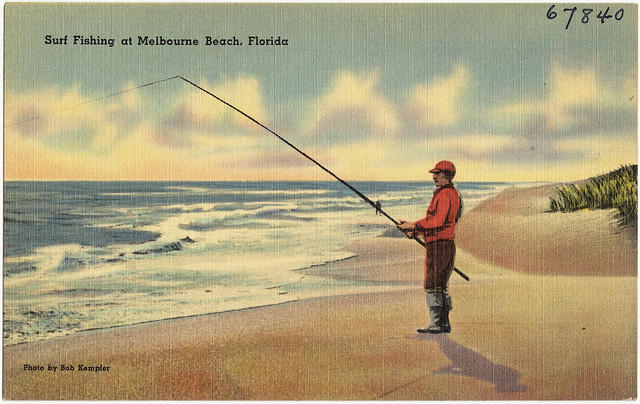 Surf fishing at melbourne beach florida flickr photo for Florida surf fishing