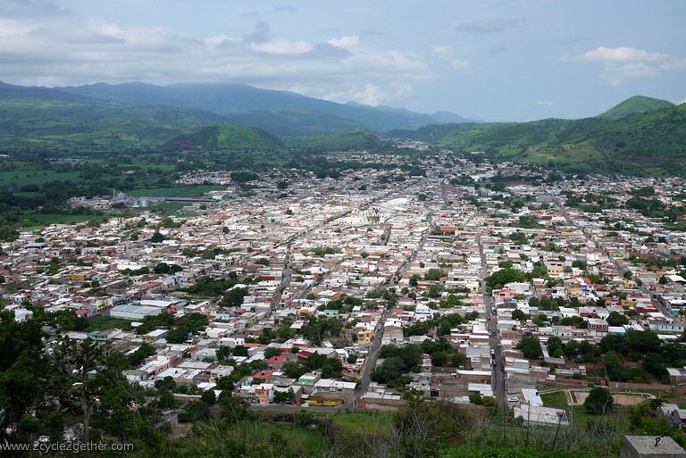 Looking down on Ixtlán del Rio, Nayarit