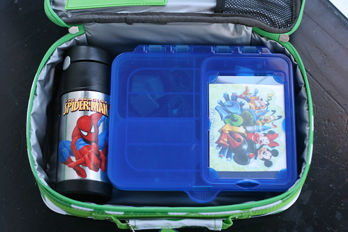 Gerber box packed in GoGreen lunchbox