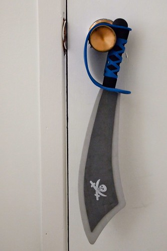 hanging up the ole pirate sword