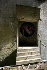 Jauntily angled doorway