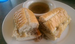 French Dip Sandwich @ Brady's Hometown Grill