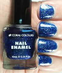 Coral Colours Blue Bolt