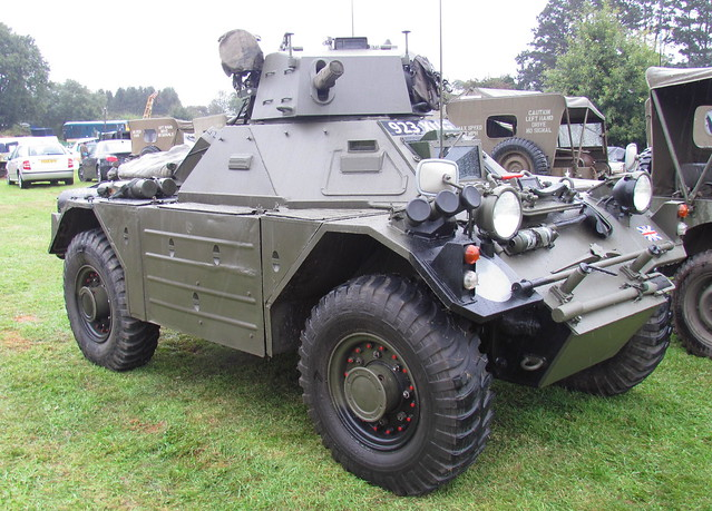 Header of scout car