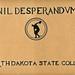 Nil Desperandum scrapbook, 1927.