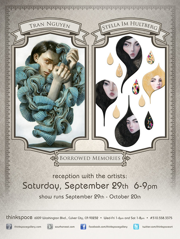 Borrowed Memories - 2 person show with Tran Nguyen at Thinkspace Gallery!