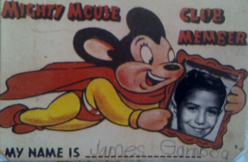 Mighty Mouse Membership Card
