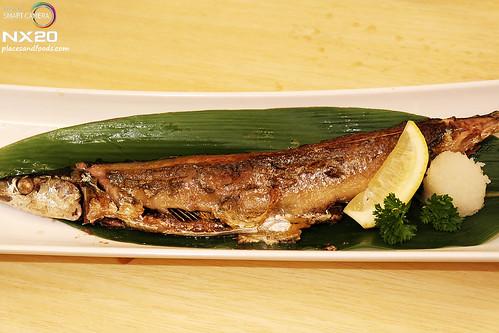 miraku sanma shioyaki