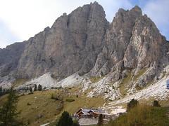 Jimmy Hütte vor der Grossen Cir-Spitze