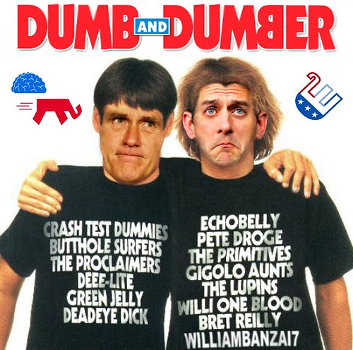DUMB AND DUMBER by Colonel Flick