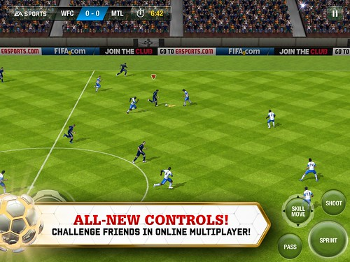 FIFA 13 Mobile Lets You Get Your Soccer Fix On the Go