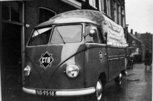 NS-95-18 Volkswagen Transporter enkelcabine 1954